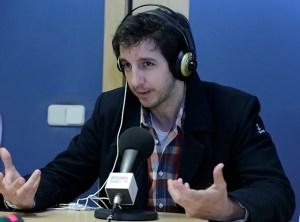 Gullermo Ortega en Europea Radio en la #SemanaComunicacionUEM2014