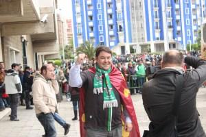 Bernardo Colsa creía en la victoria. Foto: Arturo Herrera.