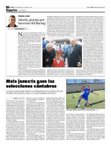 Artículo publicado en el Diario Alerta.