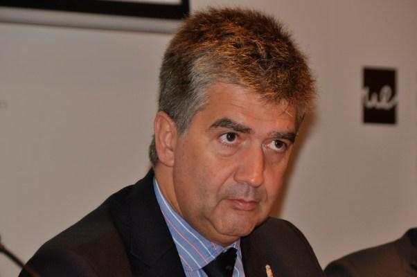 Ignacio Cosidó durante la conferencia