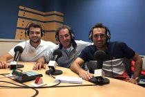 Javier Martos, Javier de la Rubia e Iván Pajares
