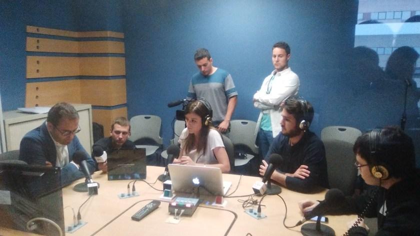 David Jiménez en la radio