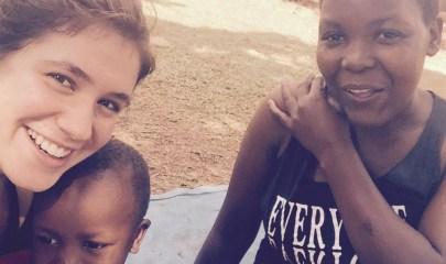 Liam Aronow en Uganda