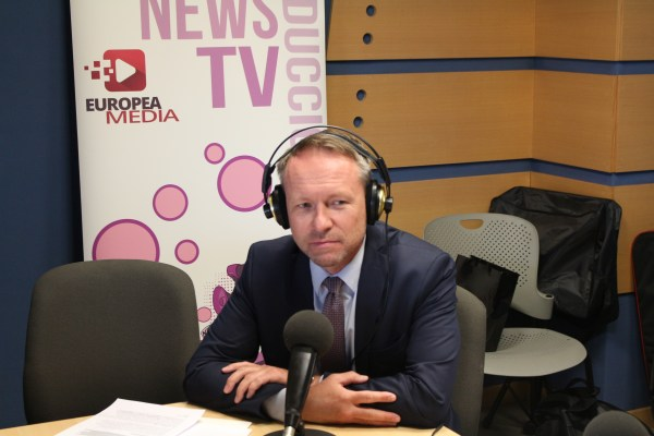 David Conell en Europea Radio UEM