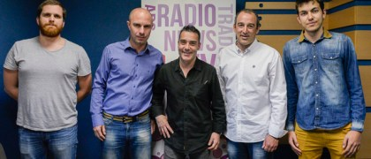 Javier de Diego, Alberto González y Ángel García Jorge Sánchez