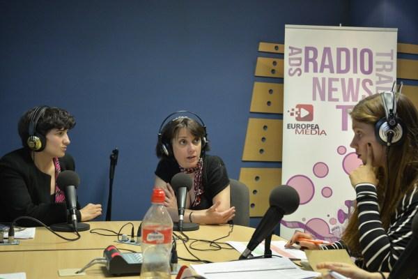 Mona León Siminiani y María Jesús Espinosa en Europea Radio