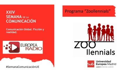 Zoollennial Semana de la Comunicación 2018 Europea Radio