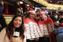 Marina Elena en el Tatro Real con el Sorteo Extraordinario de Navidad