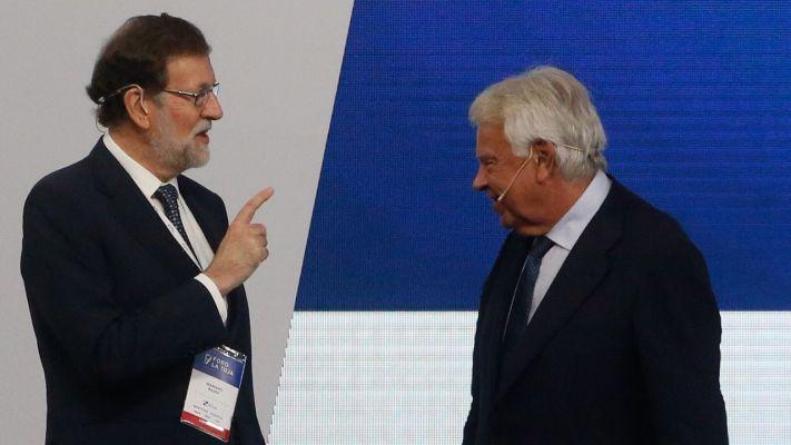Rajoy y González Foro La Toja