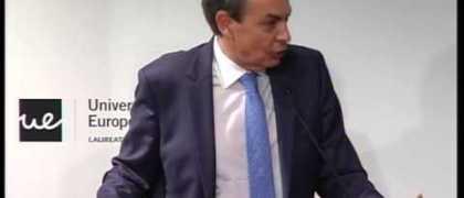 Charla-coloquio con el Presidente José Luis Rodríguez Zapatero