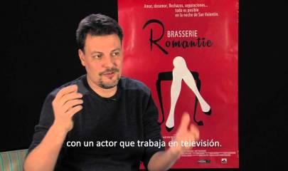 """Entrevista al director y visita de """"Brasserie Romantic"""""""