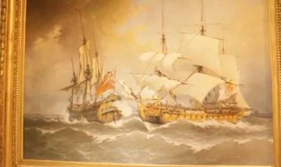 Exposición de Blas de Lezo en el Museo Naval de Madrid