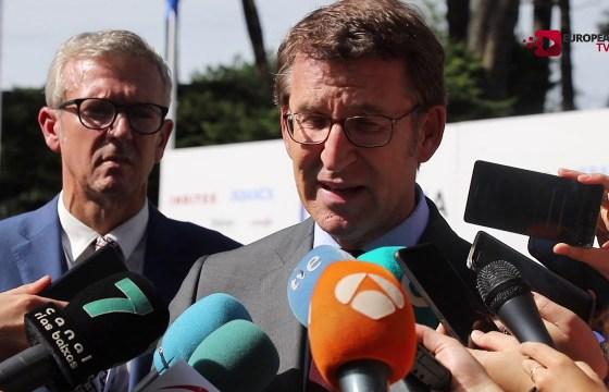 Declaraciones de Alberto Nuñez Feijóo en el Foro La Toja-Vínculo Atlántico