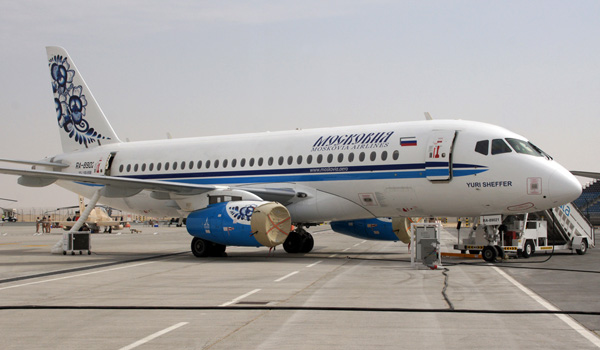 Moscovia Airlines Sukhoi SuperJet 100