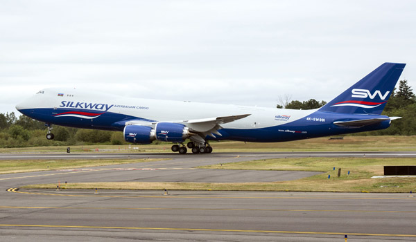 Silk Way Airlines Boeing 747-8F