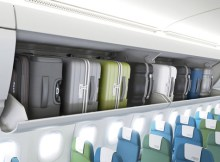 Airbus' innovative pivoting overhead stowage option for A320 Family aircraft will be introduced in 2016 with delivery of the first of 45 brand-new A321s ordered by Delta Air Lines