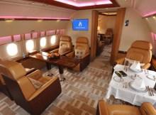 Airbus ACJ319 Dining area