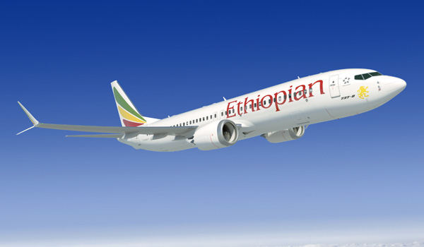 Ethiopian Airlines Boeing 737 MAX 8