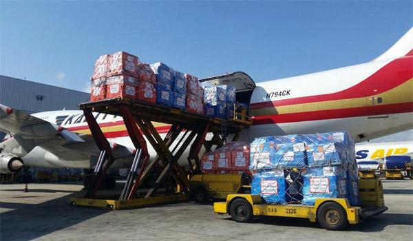 Kalitta Boeing 747-200 bound for Liberia and Sierra Leone
