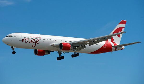 Air Canada rouge Boeng 767-300ER
