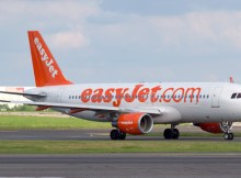 easyJet Airbus A320-200 with Sharklets