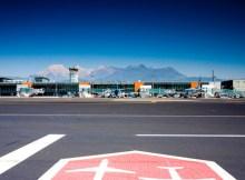 Ljubljana Airport in Slovenia