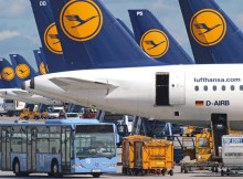 Lufthansa at Munich Airport