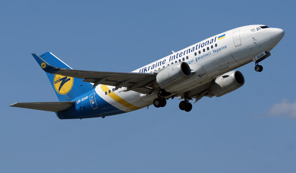 Ukraine International Boeing 737-500