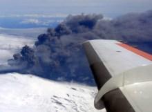 Ash cloud from Eyjafjallajökull in 2010