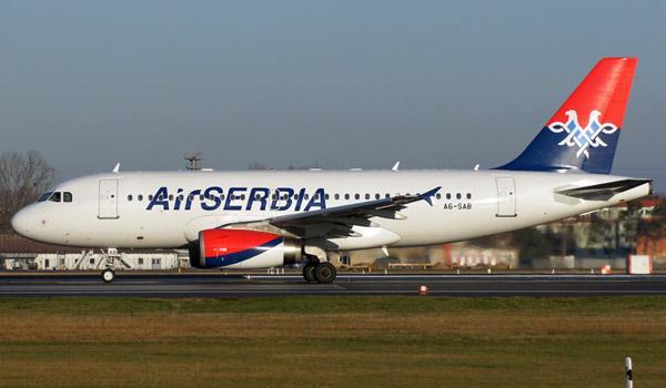 Air Serbia Airbus A319