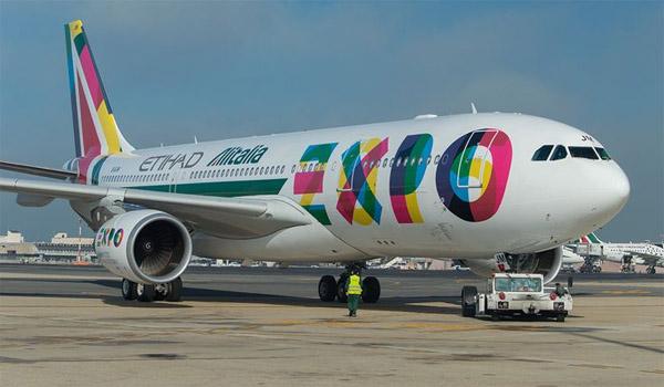 Alitalia Airbus A330-200 in special EXPO Milano 2015 livery