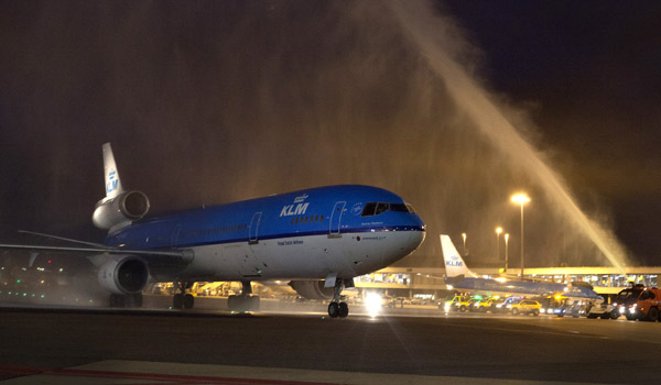 KLM MD-11 farewell