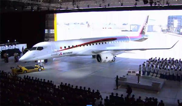 Roll-out Mitsubishi Regional Jet