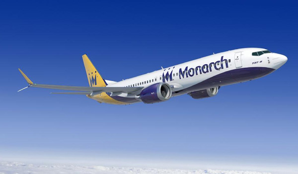 Monarch Boeing 737 MAX