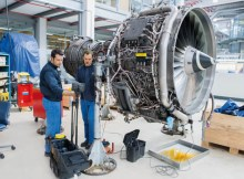 MTU Maintenance Hannover specializes in the repair of the V2500