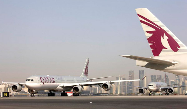 Planes of Qatar Airways