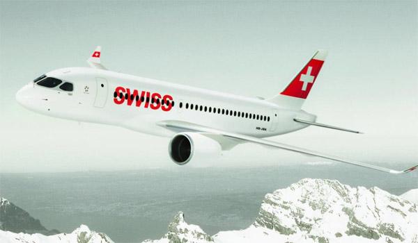 Swiss Bombardier CSeries