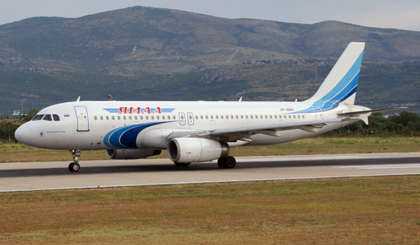 Yamal Airlines Airbus A320