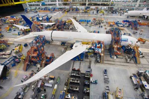 United Airlines will take delivery of the first South Carolina-built 787-9.