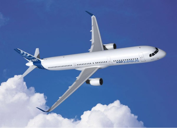 Airbus A321ceo (© Airbus)