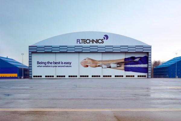 Hangar of FL Technics in Kaunas (© FL Technics)