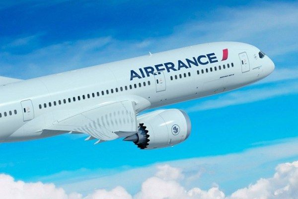 Artist impression of Air France Boeing 787