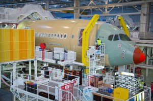 First Airbus A350-900 XWB at the Final Assembly Line