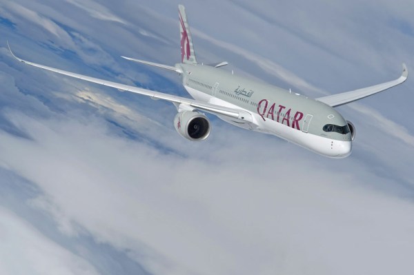 Qatar Airways Airbus A350 XWB (© Airbus)