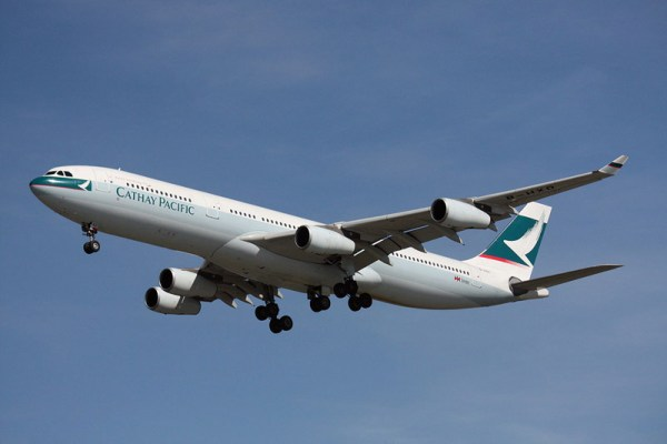 Cathay Pacific Airbus A340-300