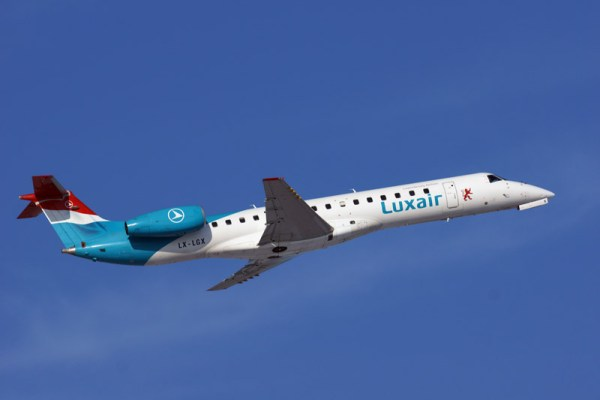 Luxair Embraer 145 (© O. Pritzkow)