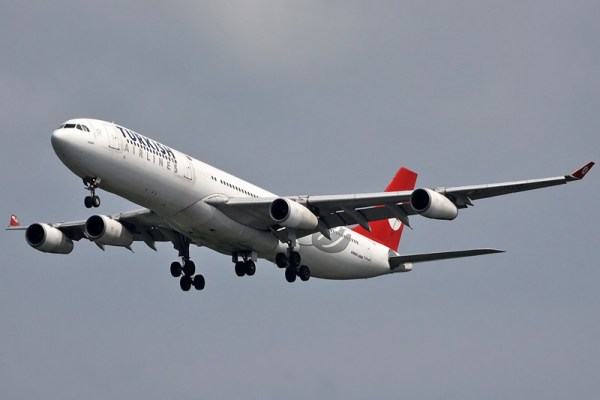 Turkish Airlines Airbus A340-300