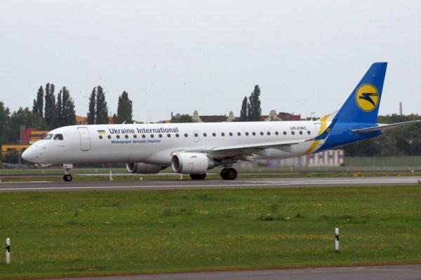 Ukraine International Embraer 190 (© O. Pritzkow)