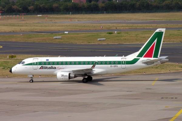 Alitalia Express Embraer 170 (© O. Pritzkow)