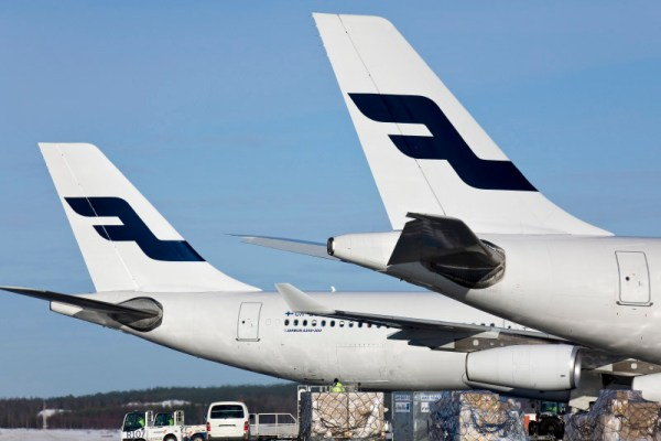 Cargo at Helsinki Airport (© Finnair)